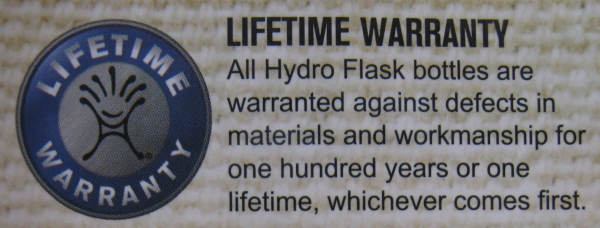 Hydro Flask best water bottle lifetime warranty